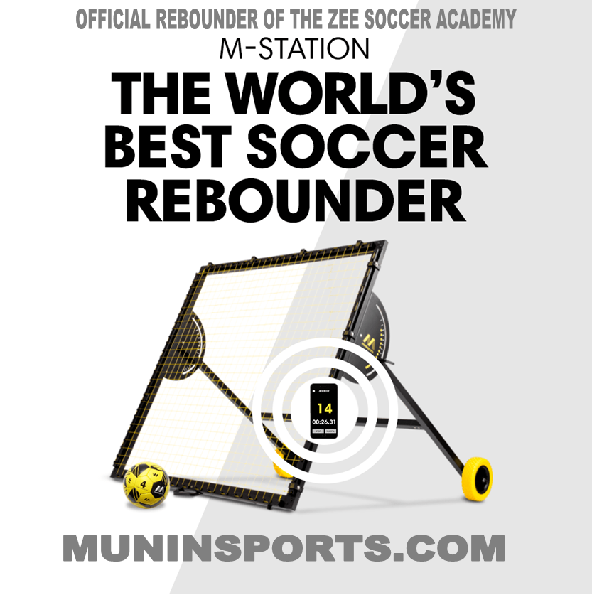 Munin M-Station the official rebounder of the ZEE Soccer Academy USA